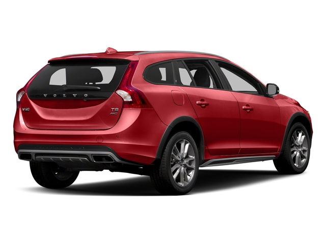 Passion Red 2017 Volvo V60 Cross Country Pictures V60 Cross Country Wagon 5D T5 Platinum AWD I4 Turbo photos rear view