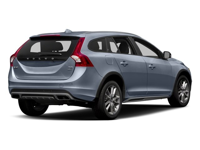 Mussel Blue Metallic 2017 Volvo V60 Cross Country Pictures V60 Cross Country Wagon 5D T5 Platinum AWD I4 Turbo photos rear view