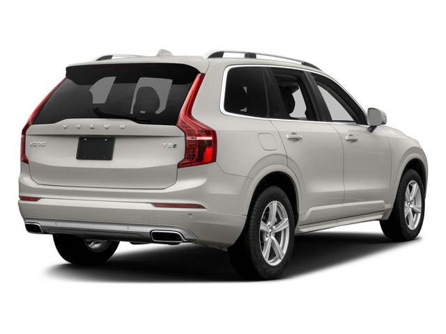 Crystal White Pearl Metallic 2017 Volvo XC90 Pictures XC90 Util 4D T5 Momentum AWD I4 Turbo photos rear view