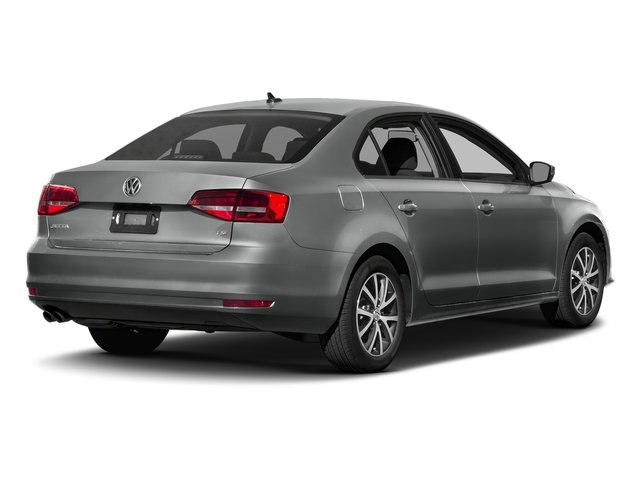 Platinum Gray Metallic 2017 Volkswagen Jetta Pictures Jetta 1.8T Sport Auto photos rear view