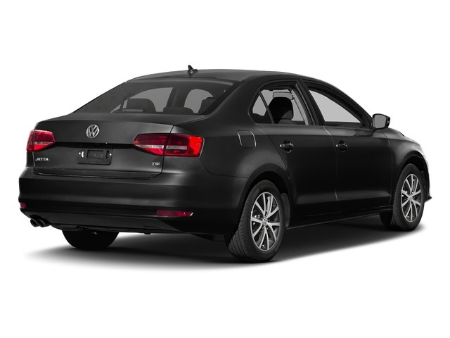 Black 2017 Volkswagen Jetta Pictures Jetta 1.8T Sport Auto photos rear view