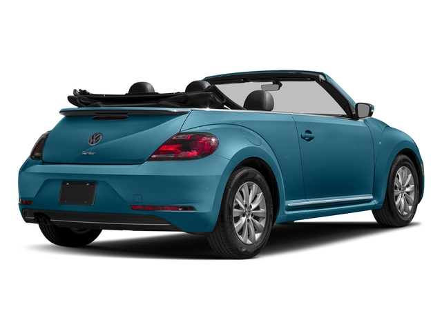 Silk Blue Metallic/Black Roof 2017 Volkswagen Beetle Convertible Pictures Beetle Convertible 1.8T Classic Auto photos rear view