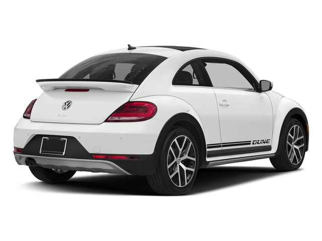 Pure White 2017 Volkswagen Beetle Pictures Beetle 1.8T Dune Auto photos rear view