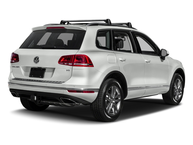 Pure White 2017 Volkswagen Touareg Pictures Touareg V6 Wolfsburg Edition photos rear view