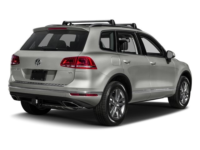 Canyon Gray Metallic 2017 Volkswagen Touareg Pictures Touareg V6 Wolfsburg Edition photos rear view