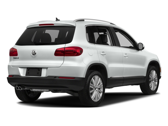 Pure White 2017 Volkswagen Tiguan Limited Pictures Tiguan Limited 2.0T FWD photos rear view