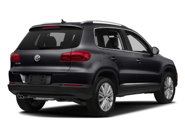 Deep Black Pearl Metallic 2017 Volkswagen Tiguan Limited Pictures Tiguan Limited 2.0T FWD photos rear view