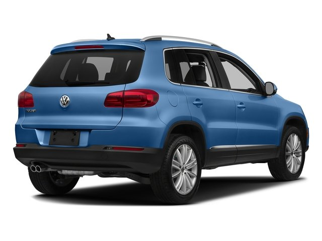 Pacific Blue Metallic 2017 Volkswagen Tiguan Limited Pictures Tiguan Limited 2.0T FWD photos rear view