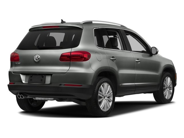 Pepper Gray Metallic 2017 Volkswagen Tiguan Limited Pictures Tiguan Limited 2.0T FWD photos rear view