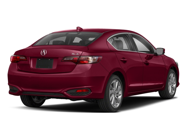 San Marino Red 2018 Acura ILX Pictures ILX Sedan photos rear view