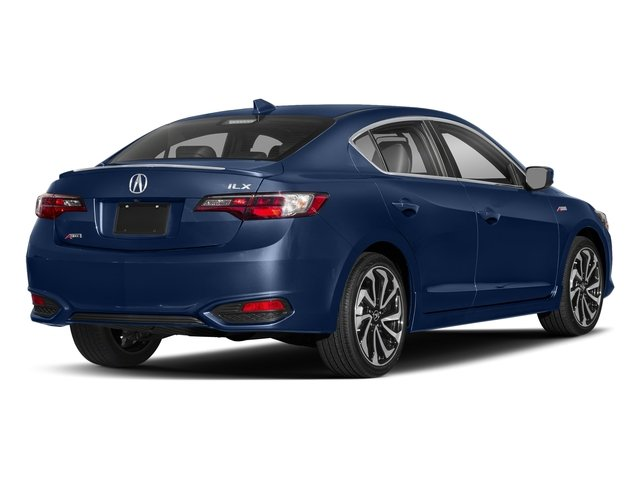 Catalina Blue Pearl 2018 Acura ILX Pictures ILX Sedan 4D Premium A-SPEC photos rear view