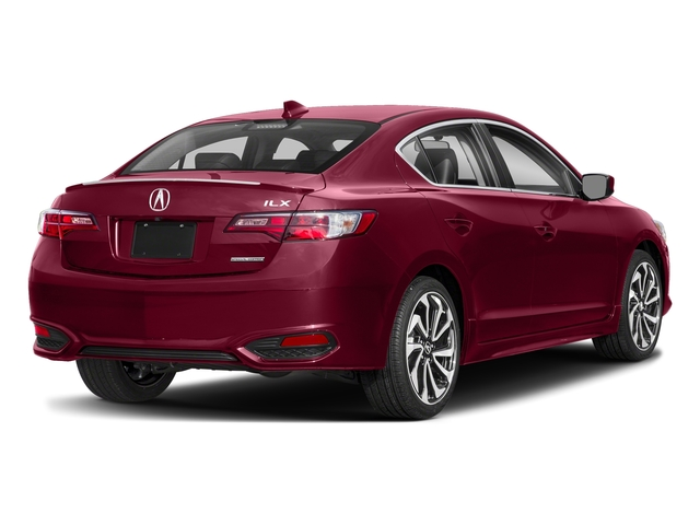 San Marino Red 2018 Acura ILX Pictures ILX Special Edition Sedan photos rear view