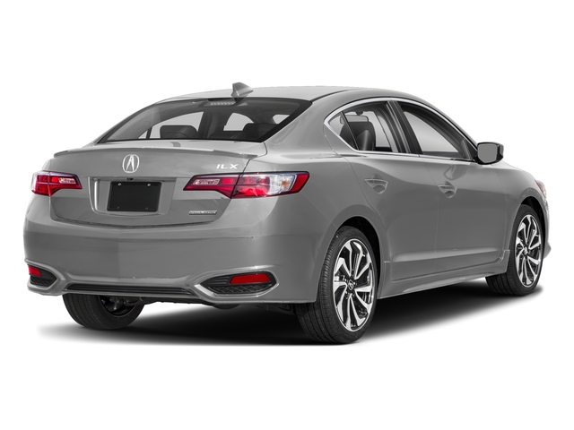 Lunar Silver Metallic 2018 Acura ILX Pictures ILX Special Edition Sedan photos rear view