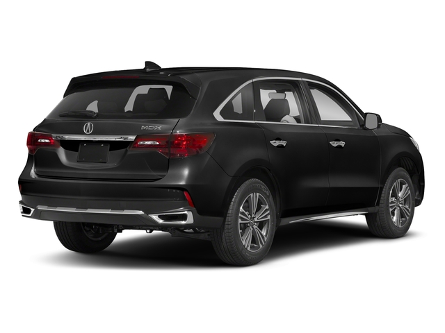 Crystal Black Pearl 2018 Acura MDX Pictures MDX FWD photos rear view
