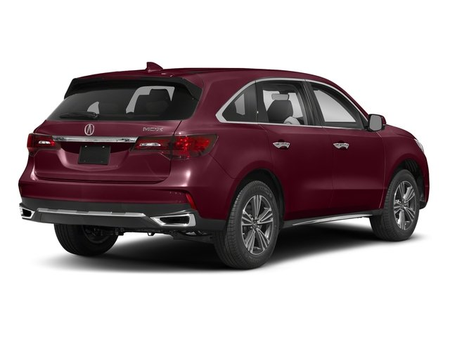 Basque Red Pearl II 2018 Acura MDX Pictures MDX FWD photos rear view