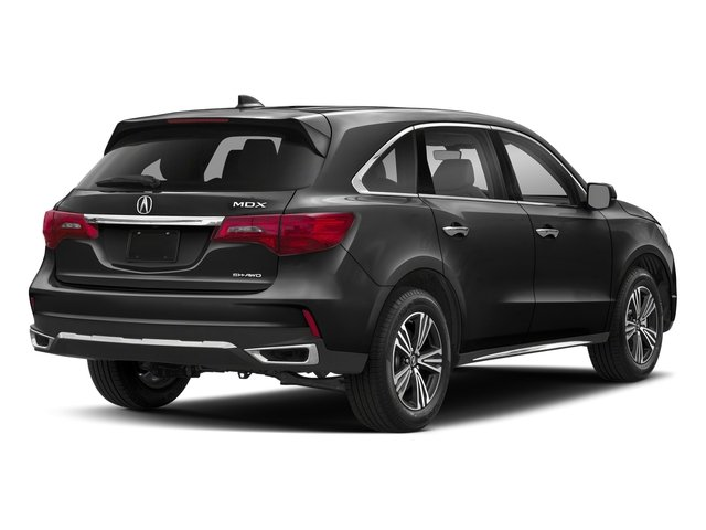 Crystal Black Pearl 2018 Acura MDX Pictures MDX SH-AWD photos rear view