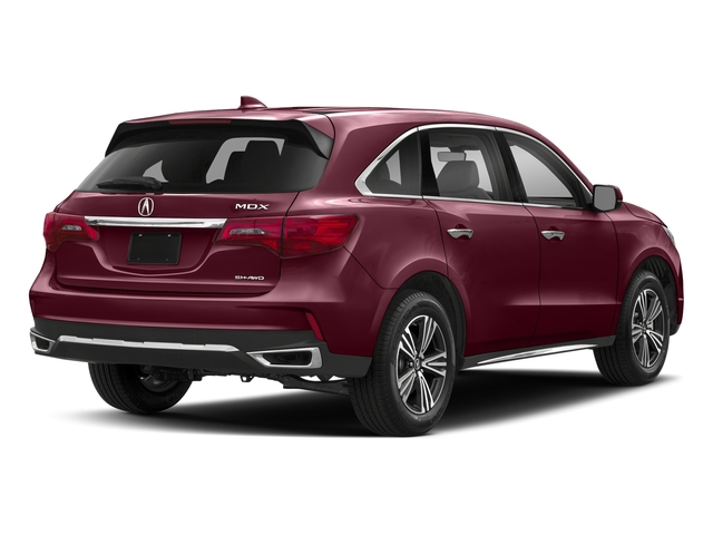 Basque Red Pearl II 2018 Acura MDX Pictures MDX Utility 4D AWD photos rear view