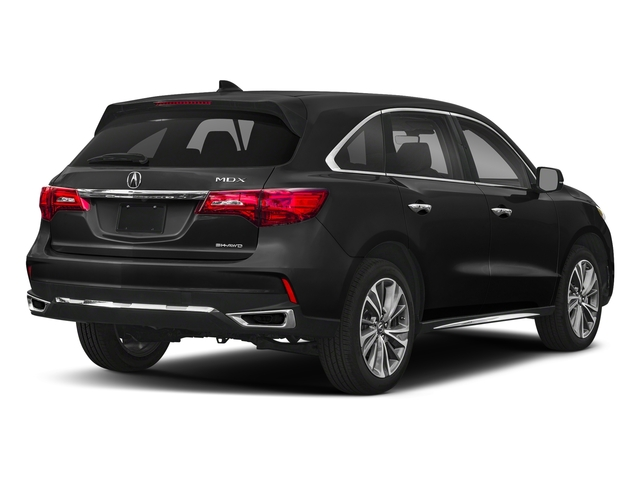 Crystal Black Pearl 2018 Acura MDX Pictures MDX SH-AWD w/Technology/Entertainment Pkg photos rear view