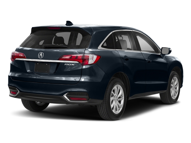 Fathom Blue Pearl 2018 Acura RDX Pictures RDX Utility 4D Technology 2WD V6 photos rear view