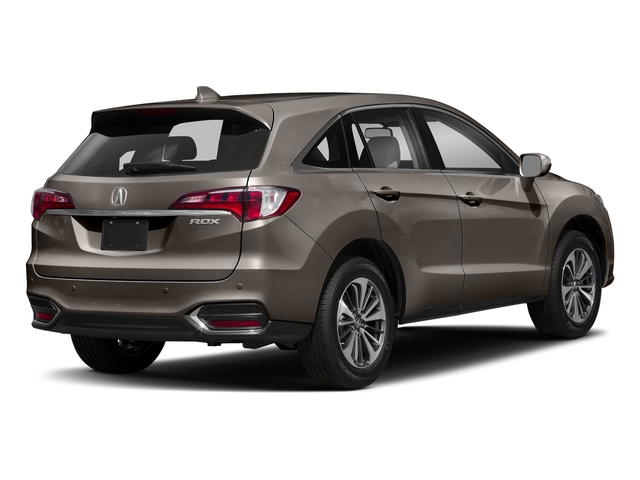 Kona Coffee Metallic 2018 Acura RDX Pictures RDX Utility 4D Advance 2WD V6 photos rear view
