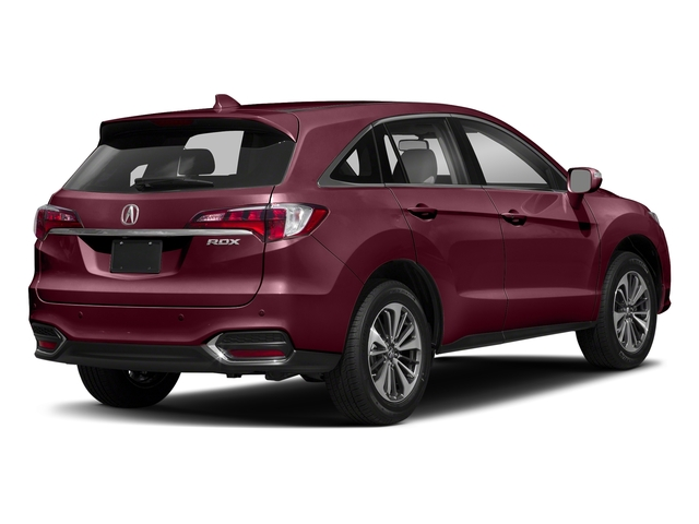 Basque Red Pearl II 2018 Acura RDX Pictures RDX Utility 4D Advance 2WD V6 photos rear view