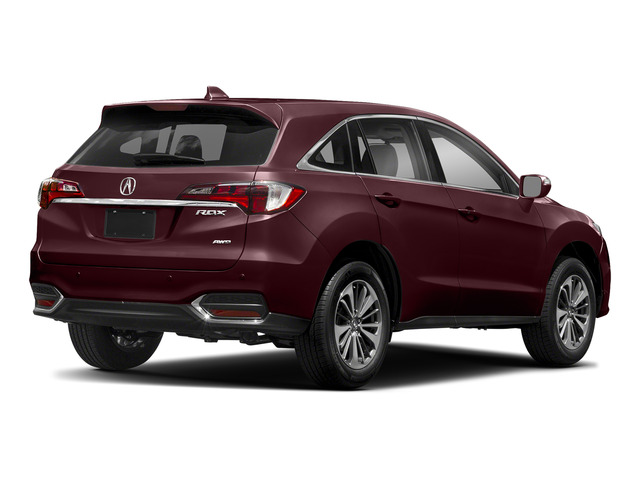 Basque Red Pearl II 2018 Acura RDX Pictures RDX AWD w/Advance Pkg photos rear view