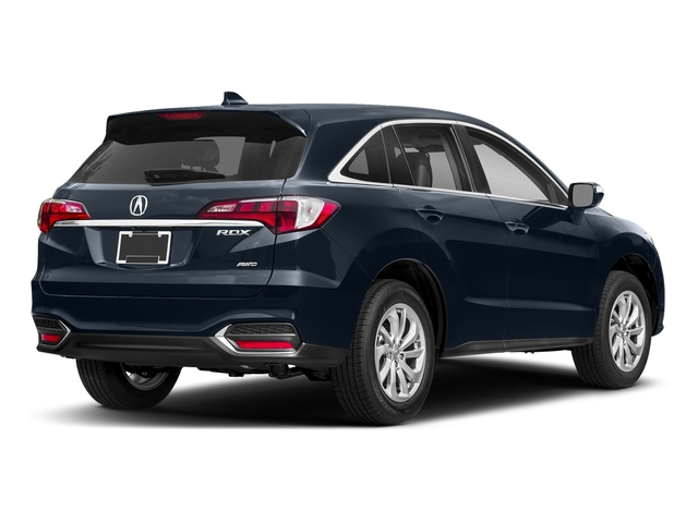 Fathom Blue Pearl 2018 Acura RDX Pictures RDX AWD w/Technology/AcuraWatch Plus Pkg photos rear view