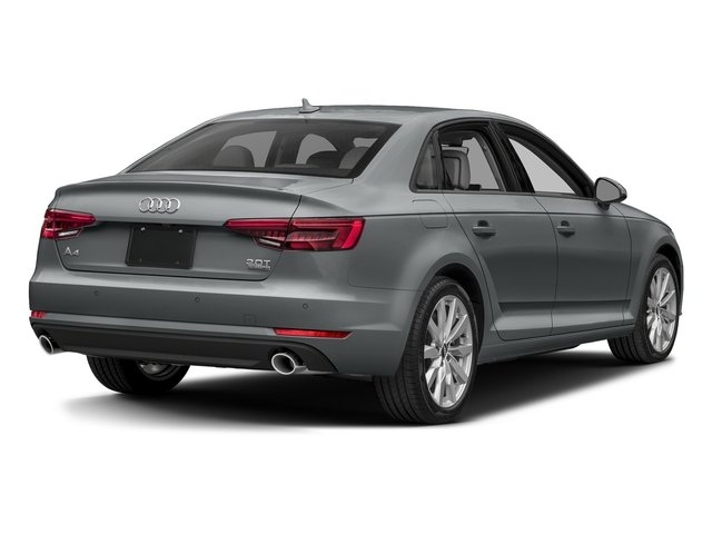 Monsoon Gray Metallic 2018 Audi A4 Pictures A4 2.0 TFSI Tech Premium Plus Manual quattro AWD photos rear view