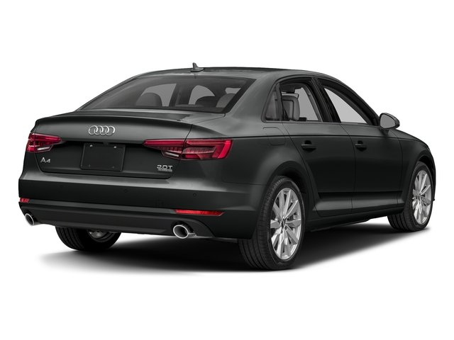 Mythos Black Metallic 2018 Audi A4 Pictures A4 2.0 TFSI ultra Tech Premium Plus S Tronic FWD photos rear view