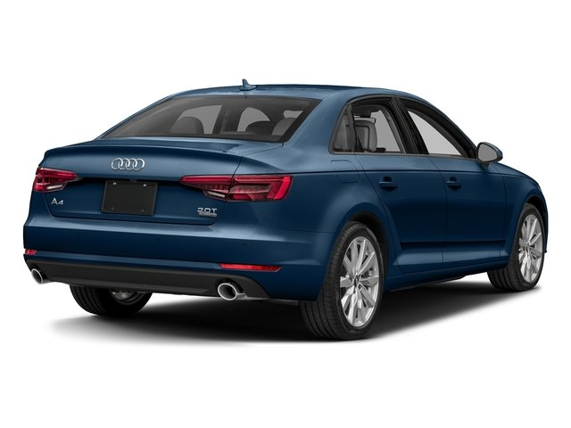 Scuba Blue Metallic 2018 Audi A4 Pictures A4 2.0 TFSI Tech Premium Plus Manual quattro AWD photos rear view