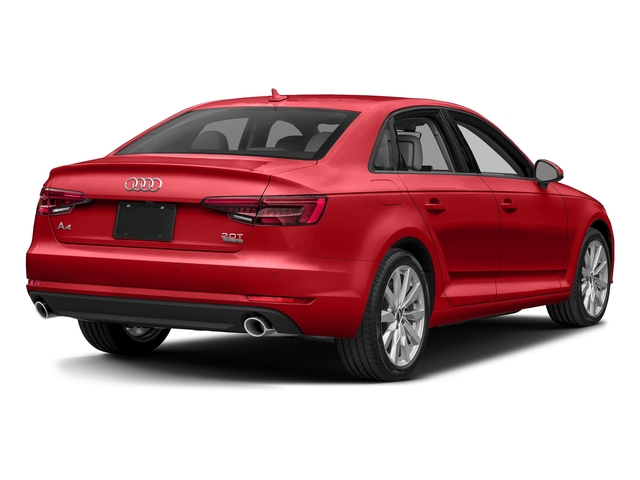 Matador Red Metallic 2018 Audi A4 Pictures A4 2.0 TFSI Premium Plus Manual quattro AWD photos rear view