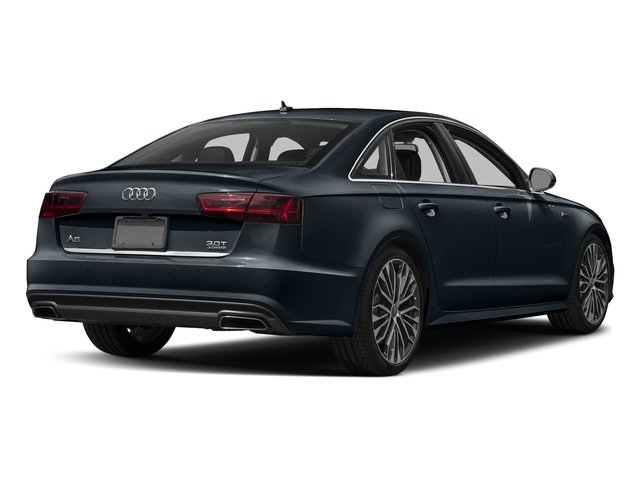 Moonlight Blue Metallic 2018 Audi A6 Pictures A6 2.0 TFSI Premium Plus FWD photos rear view