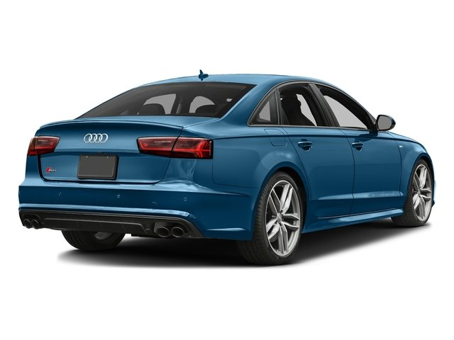 Sepang Blue Pearl Effect 2018 Audi S6 Pictures S6 4.0 TFSI Prestige photos rear view