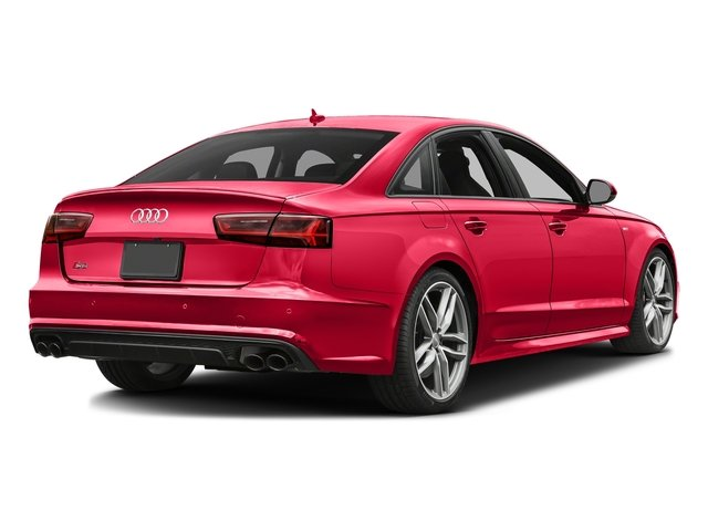 Misano Red Pearl Effect 2018 Audi S6 Pictures S6 Sedan 4D S6 Premium Plus AWD photos rear view