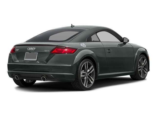 Monsoon Gray Metallic 2018 Audi TT Coupe Pictures TT Coupe 2.0 TFSI photos rear view