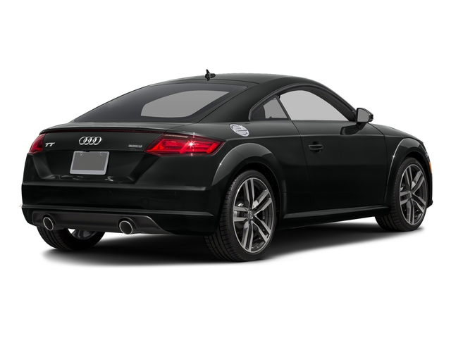 Mythos Black Metallic 2018 Audi TT Coupe Pictures TT Coupe 2.0 TFSI photos rear view