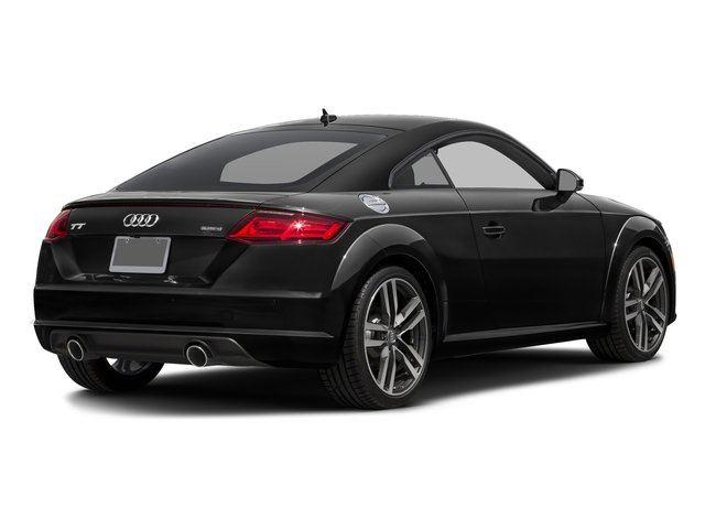 Brilliant Black 2018 Audi TT Coupe Pictures TT Coupe 2.0 TFSI photos rear view