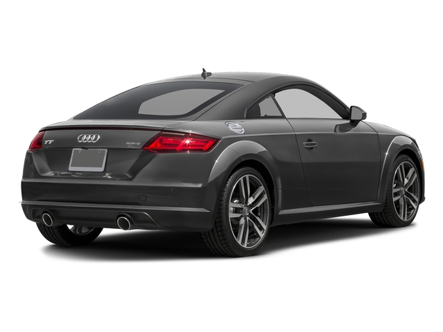 Nano Gray Metallic 2018 Audi TT Coupe Pictures TT Coupe 2.0 TFSI photos rear view