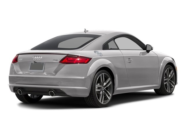 Florett Silver Metallic 2018 Audi TT Coupe Pictures TT Coupe 2.0 TFSI photos rear view
