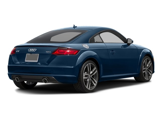Scuba Blue Metallic 2018 Audi TT Coupe Pictures TT Coupe 2.0 TFSI photos rear view