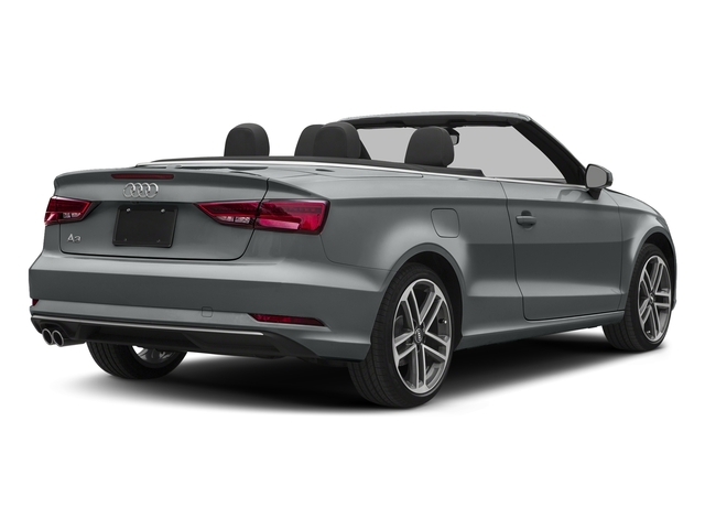 Monsoon Gray Metallic/Black Roof 2018 Audi A3 Cabriolet Pictures A3 Cabriolet 2.0 TFSI Premium quattro AWD photos rear view