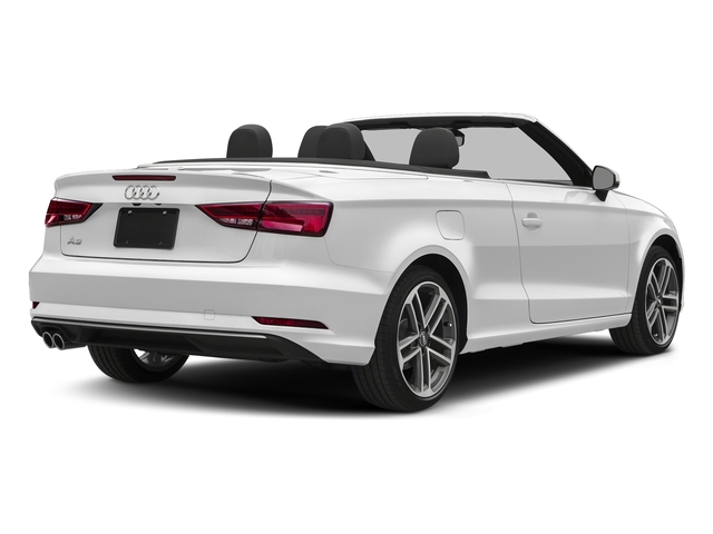 Glacier White Metallic/Black Roof 2018 Audi A3 Cabriolet Pictures A3 Cabriolet 2.0 TFSI Premium quattro AWD photos rear view