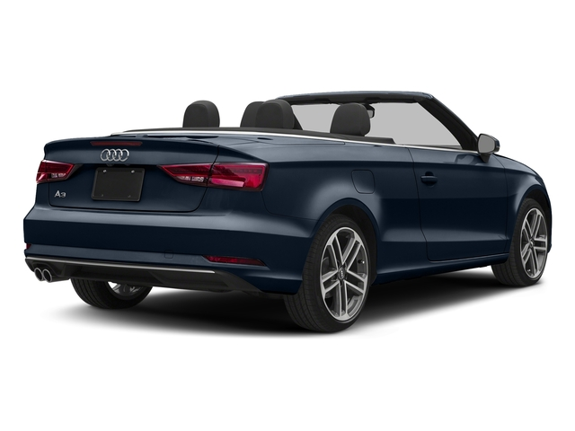 Cosmos Blue Metallic/Black Roof 2018 Audi A3 Cabriolet Pictures A3 Cabriolet 2.0 TFSI Premium quattro AWD photos rear view