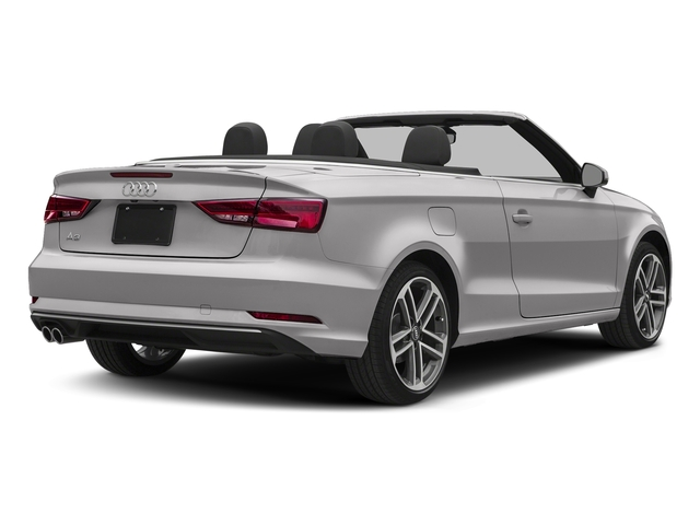 Florett Silver Metallic/Black Roof 2018 Audi A3 Cabriolet Pictures A3 Cabriolet 2.0 TFSI Premium quattro AWD photos rear view