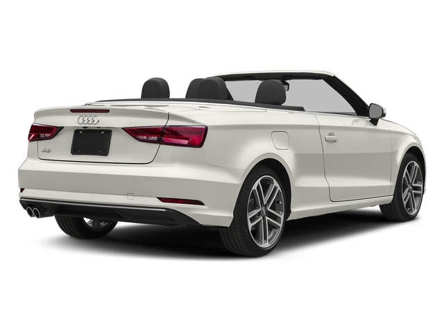 Ibis White/Black Roof 2018 Audi A3 Cabriolet Pictures A3 Cabriolet 2.0 TFSI Premium quattro AWD photos rear view