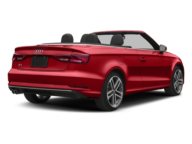 Tango Red Metallic/Black Roof 2018 Audi A3 Cabriolet Pictures A3 Cabriolet 2.0 TFSI Premium quattro AWD photos rear view