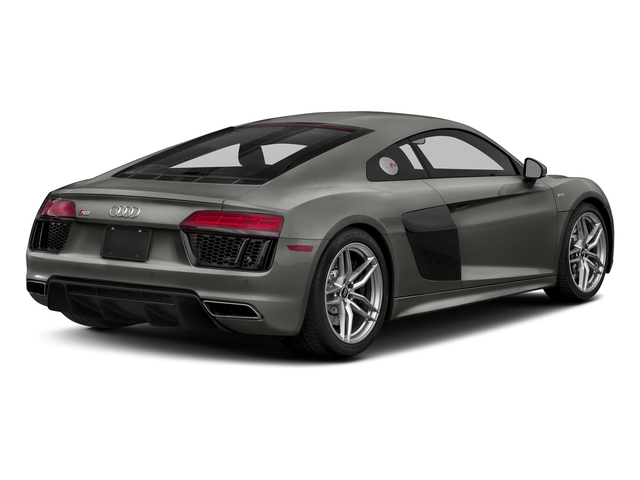Daytona Gray Pearl Effect 2018 Audi R8 Coupe Pictures R8 Coupe V10 quattro AWD photos rear view