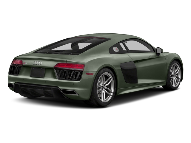 Camouflage Green Metallic 2018 Audi R8 Coupe Pictures R8 Coupe V10 quattro AWD photos rear view