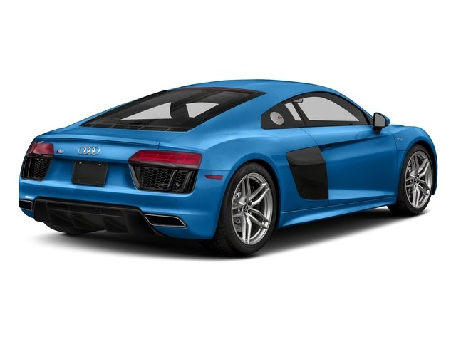 Ara Blue Crystal Effect 2018 Audi R8 Coupe Pictures R8 Coupe V10 quattro AWD photos rear view