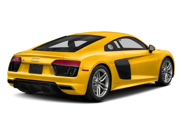Vegas Yellow 2018 Audi R8 Coupe Pictures R8 Coupe V10 quattro AWD photos rear view
